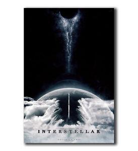 T-998 Art Poster Interstellar Alien Space Travel Galaxy Movie Silk 27x40IN