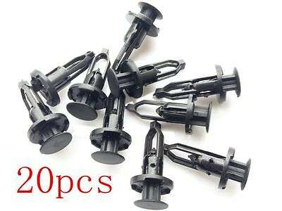 4 Rear Bumper CoverPush-Type Clips Compatible With Toyota  52161-16010