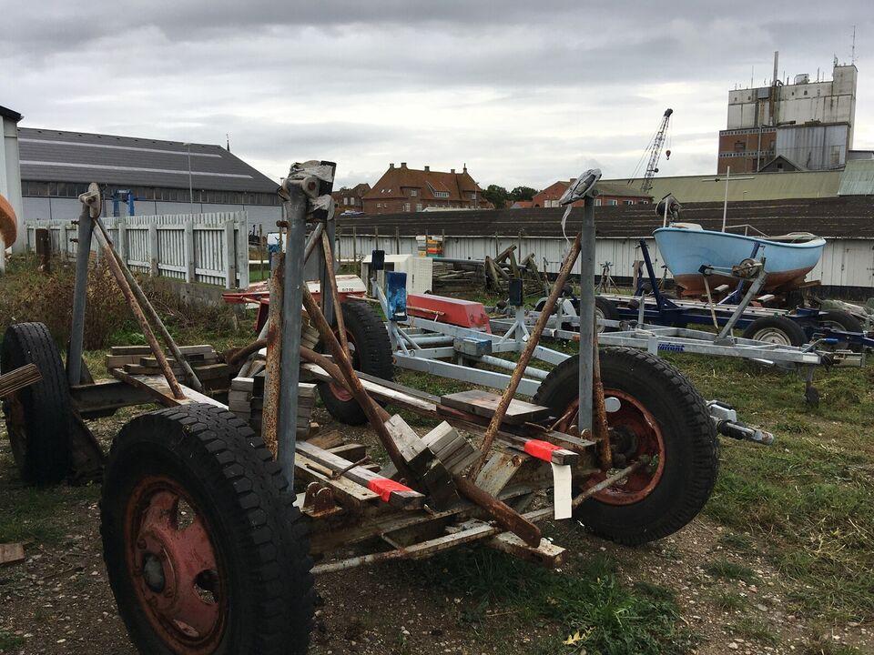 Bådvogn til bådstørrelse 25 - 35 fod