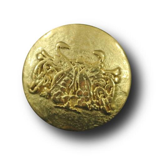 8 escudo noble botones de mattgoldfarb metal con imaginación plenamente emblema 2411g