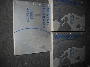 2005 LINCOLN AVIATOR TRUCK SUV Service Shop Repair Manual ...