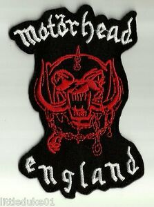 034-MOTORHEAD-ENGLAND-034-Patch-Embroidered-NEW-Rock-Heavy-Metal