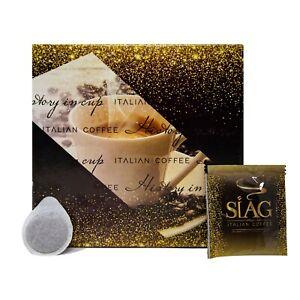 150-Cialde-in-Filtro-Carta-ese-44-mm-Siag-Caffe-Miscela-Espresso-Napoletano