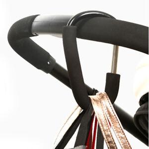 Le Meilleur Aluminium Baby Stroller Crochets Bouton Mousqueton Shopping Sacs Transport Crochets-afficher Le Titre D'origine Garantie 100%