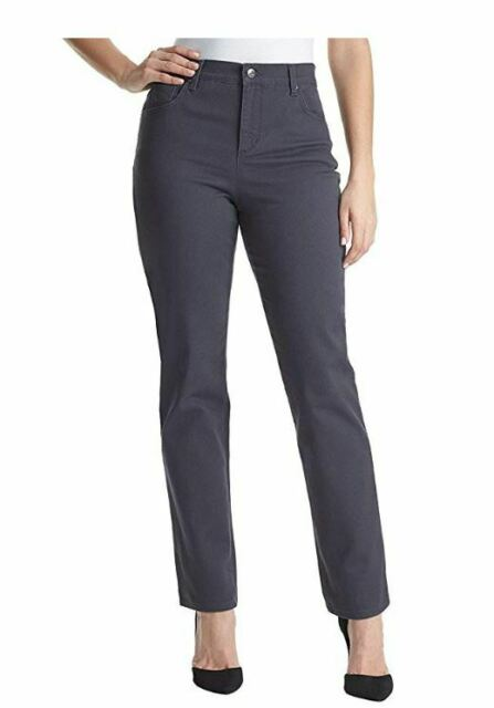NWT Gloria Vanderbilt Amanda Classic Fit Jean Denim Pants Grey Twilight Variety