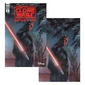 Star-Wars-Clone-Wars-Battle-Tales-3-Darth-Maul-Peach-Momoko-Virgin-Set-In-Hand