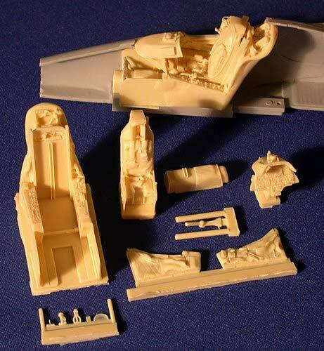 1//32 Avionix 32026 A-4 F//E Skyhawk Resin Cockpit Detail Set Für Hasegawa