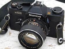 Mamiya NC1000S 35mm SLR w/mamiya sekor cs 50mm f1.14