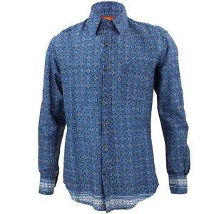funky de hommes des chemise haute la au de ᄄᄂ Blue robe Mens la bruyante dos voix psychᄄᆭdᄄᆭlique l1TcK3FJ