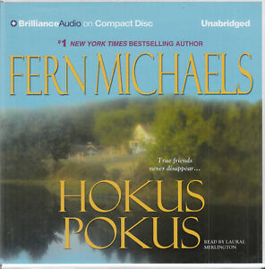 Fern-Michaels-Hokus-Pokus-6CD-Audio-Book-Unabridged-Sisterhood-Crime-Thriller