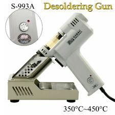 Electric Vacuum Desoldering Pump Solder Gun Suction Nozzles 350c450c S 993a