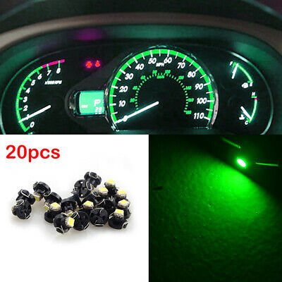 20 x Red T4 Neo Wedge LED Bulb Cluster Instrument Dash Climate Base Lights HS