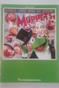 Favorite-Songs-from-Jim-Henson-039-s-Muppets-Songbook-1986-piano-vocal-guitar