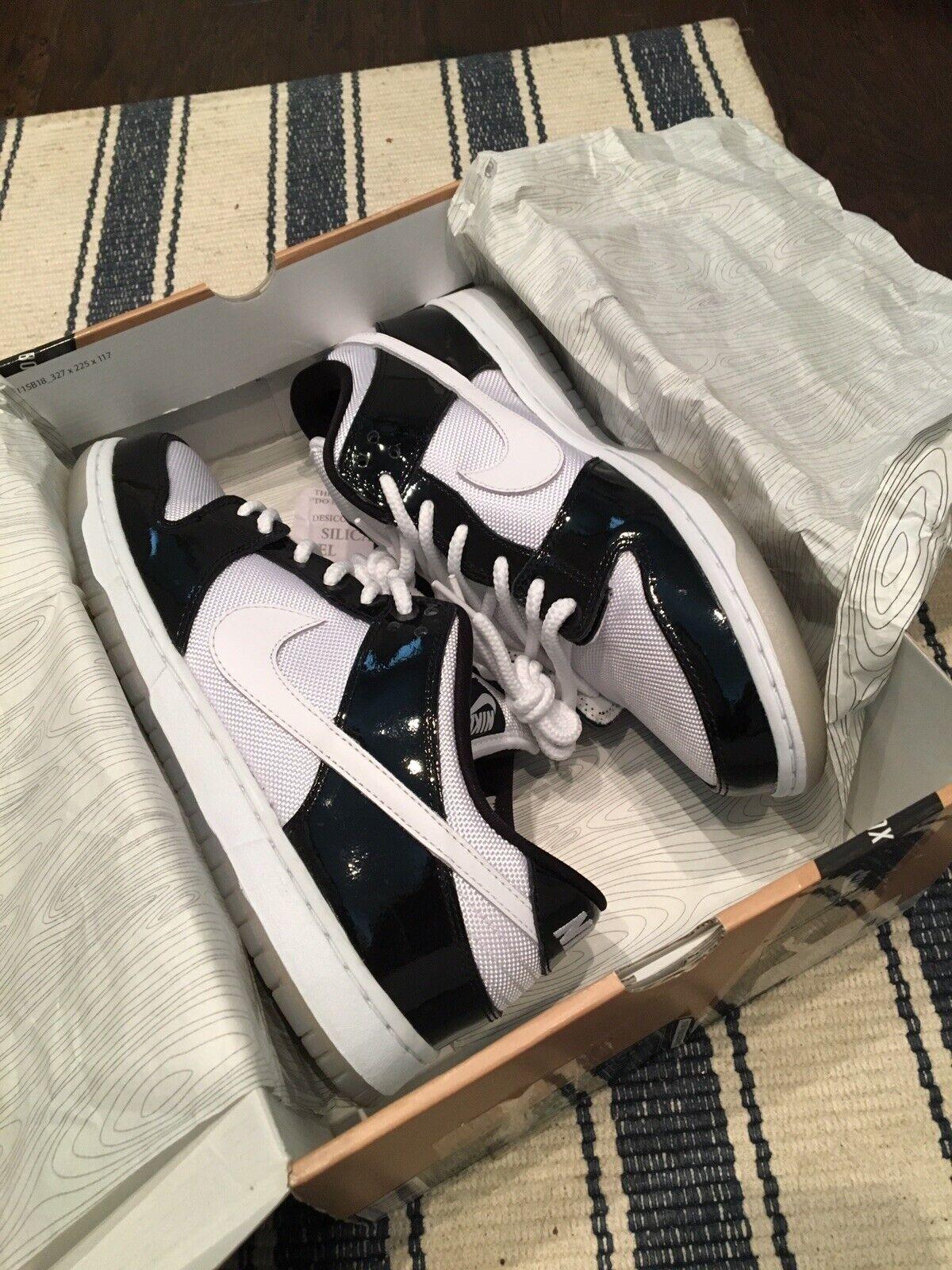 "Nike Nike Nike SB Dunk Low Pro ""Concord"" Size 10 VNDS Iguana Takashi Venom 3b8042"