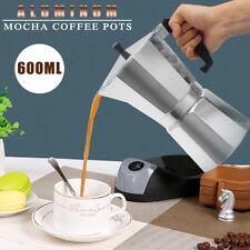 Us Stock 600ML 12 Cup Coffee Moka Pot Stove Percolator Maker Top
