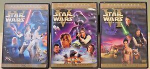 Star Wars Original Trilogy Theatrical Editions 2006 Dvd 6 Discs Han Shoots 1st Ebay