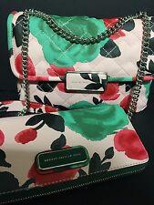 Marc by Marc Jacobs Rebel Jerrie Rose Quilted Rebel 24 Shoulder Bag & Wallet NWT