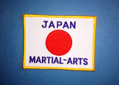 5 Lot 1970/'s Japanese Japan Flag Martial Arts Embroidered Jacket Patches 467