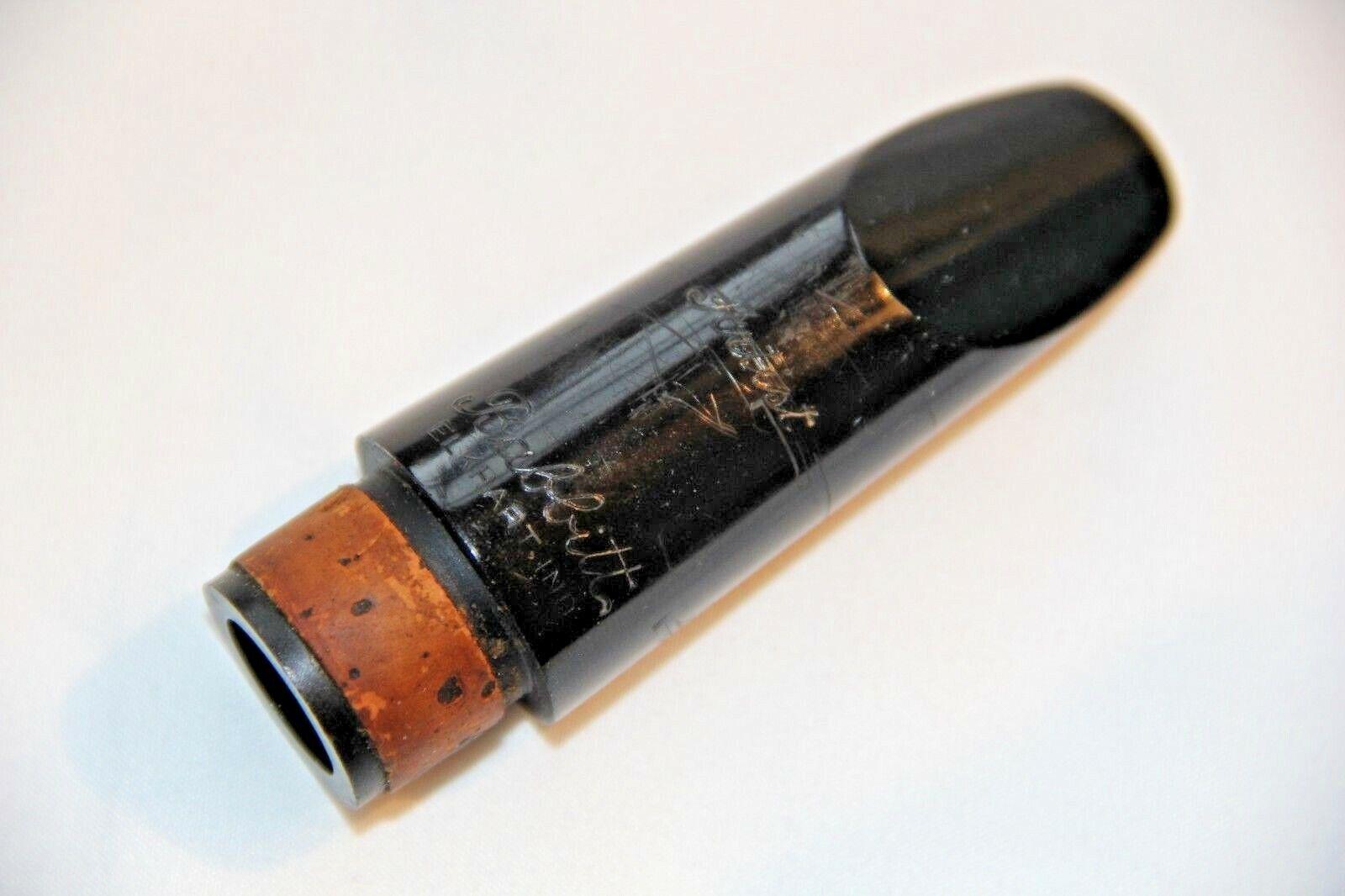 Vintage Babbitt Artist 'M' Elkhart Ind.  Bb Clarinet Mouthpiece