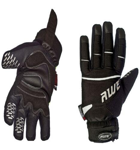 AWE® AWEVizTM 3M Scotchlite Thinsulate High Visibility Winter Glove Black Large