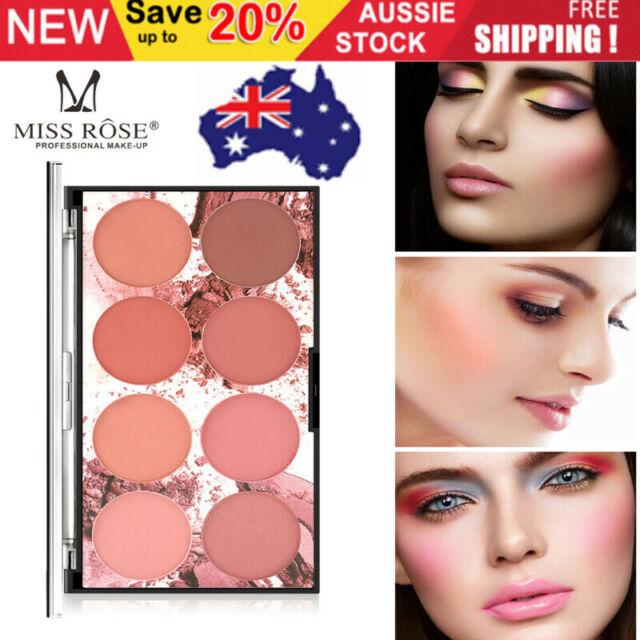 AU❤❤8 Colors Blush Blusher Powder Palette Face Cosmetic Contour Shadow Makeup~