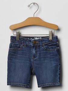 NWT-27-Baby-GAP-Girls-Indigo-Denim-Bermuda-Shorts-12-18-mo-2T-3T-4T-5T-2-3-4-5