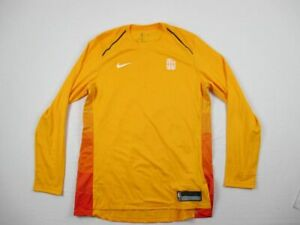 NEW-Nike-Utah-Jazz-Yellow-Dri-Fit-Long-Sleeve-Shirt-Multiple-Sizes