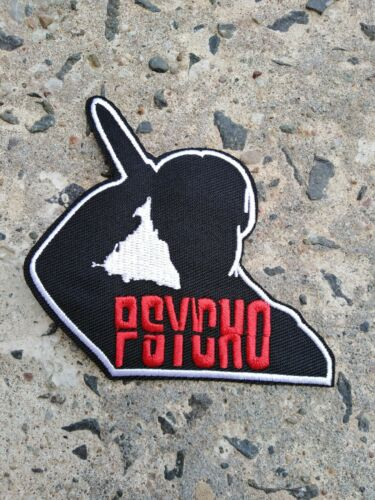 Psycho Horror Film Iron On Sew On Embroidered Patch Norman Bates Mother Movie