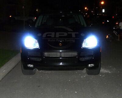 Mercedes C-Class W204 55w ICE Blue Xenon HID High Main Beam Headlight Bulbs Pair