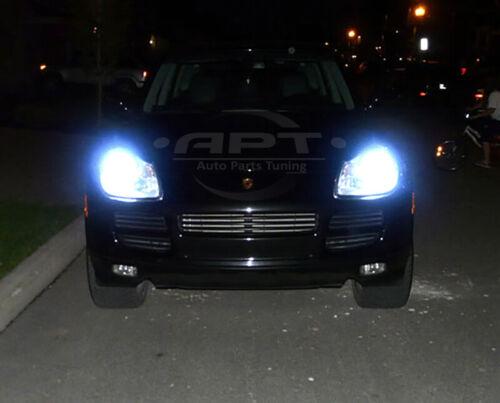 Porsche Cayenne II 2010-2014 D1S Xenon Hid 35W 85V Bulbs Ice Blue 8000K Low Beam
