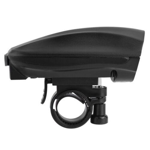Ultra-loud Speaker Black Electronic Bicycle 6 Sounds Alarm Bell Bike Siren Ho Dt