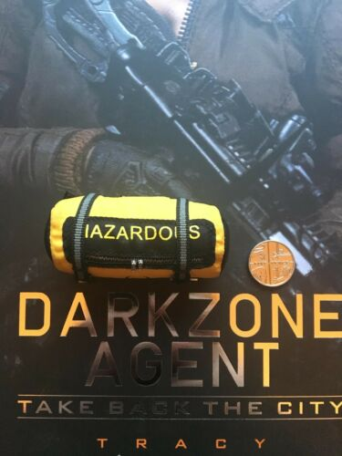 Virtual Toys The Dark Zone Agent Tracy Hazardous Bag loose 1//6th scale