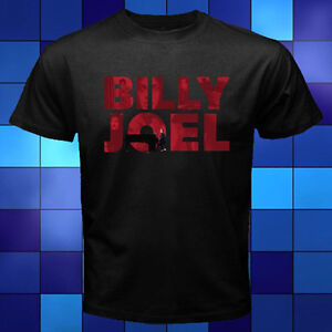 New-Billy-Joel-Piano-Man-Music-Legend-Black-T-Shirt-Size-S-M-L-XL-2XL-3XL