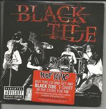 BLACK TIDE Shockwave w/ GUITAR PICK & STICKER 3TRX RARE VIDEO FOOTAGE LIMITED CD