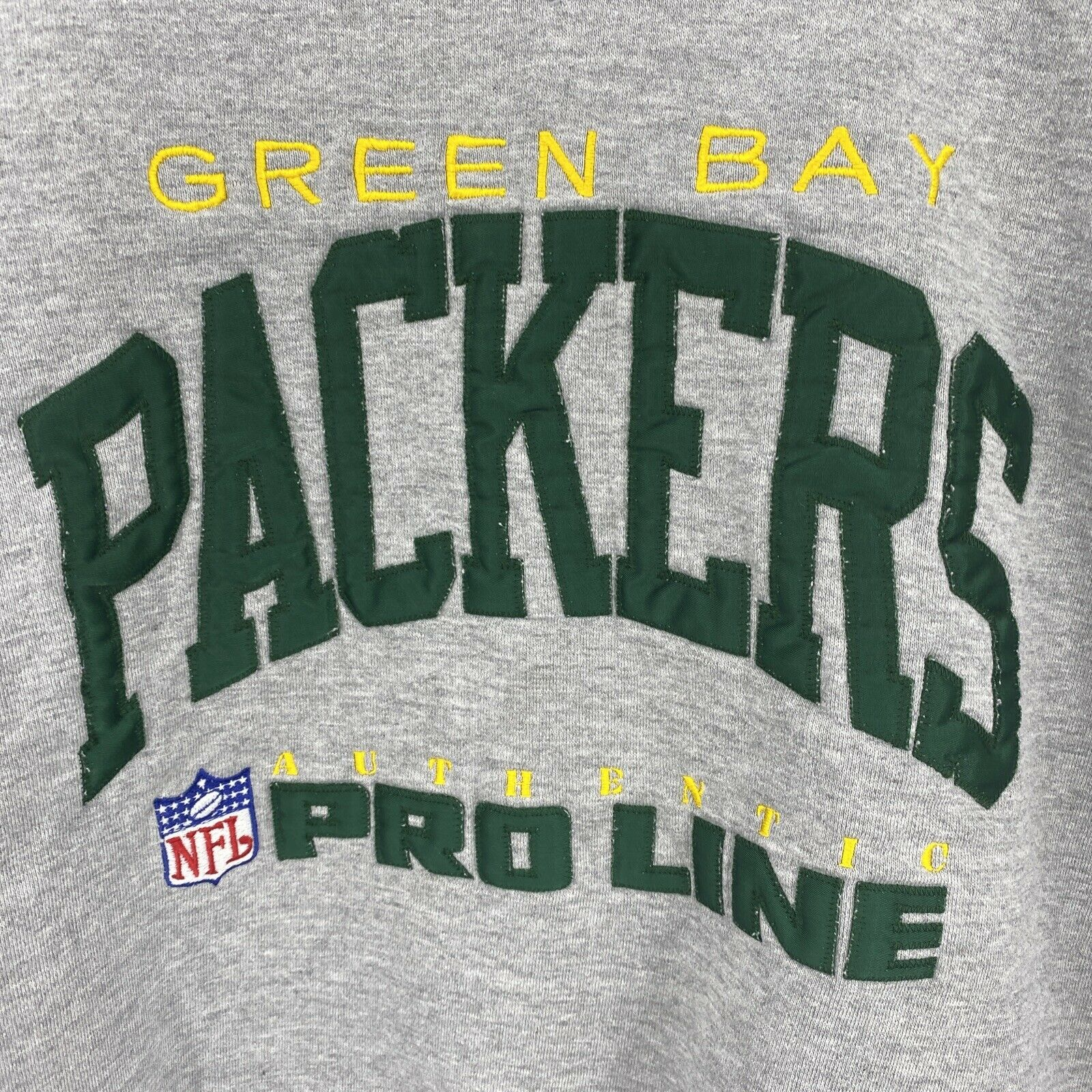 VTG 80's Russell Athletic XL Russell Green Bay Pa… - image 2