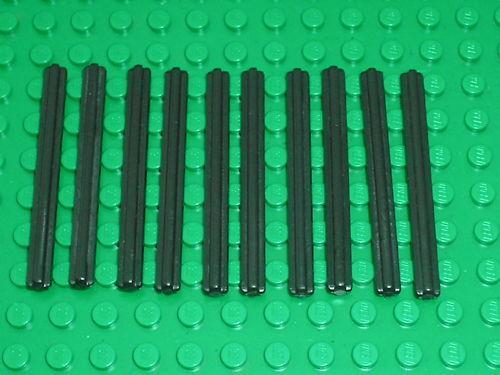 10 LEGO TECHNIC axles 6 10 tige taille 6
