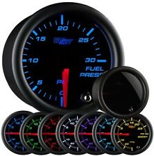 Glow Shift Tinted 7 Color Series 30 PSI Fuel Pressure Gauge