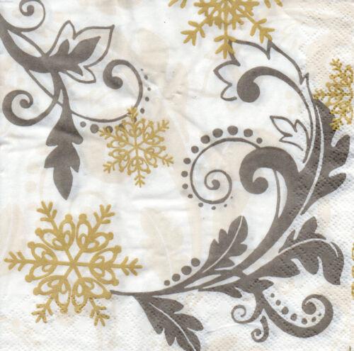 4 Motivservietten Servietten Napkins Tovaglioli Weihnachten Ornament 1024