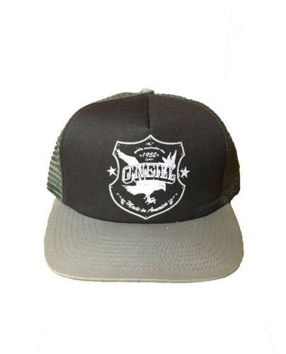 Oneill Trucker Hat Cap Olive Green Made in America