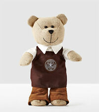 Starbucks 2016 Bearista Bear Limited Edition (brown Apron)
