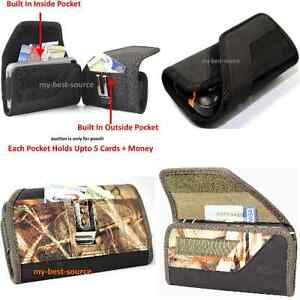 Strong-Pouch-Holster-Belt-Clip-To-Hold-Waterproof-Case-Built-In-2-Money-Pocket