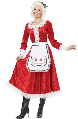 Santa Claus Christmas Adult Costume Brand New Classic Mrs