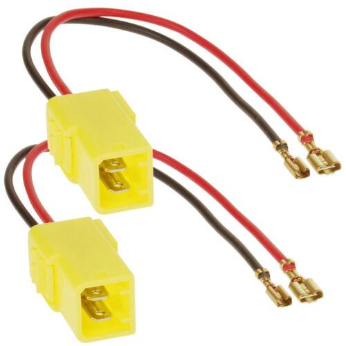 1045-01 altavoces cable del adaptador adaptador adecuado para Fiat//Lancia