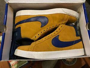 buy popular 883df 6764f Image is loading Men-039-s-Nike-SB-Blazer-high-top-