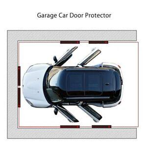 Paracolpi Garage Pareti box Auto, Set 4 pannelli autoadesive grigio polietilene