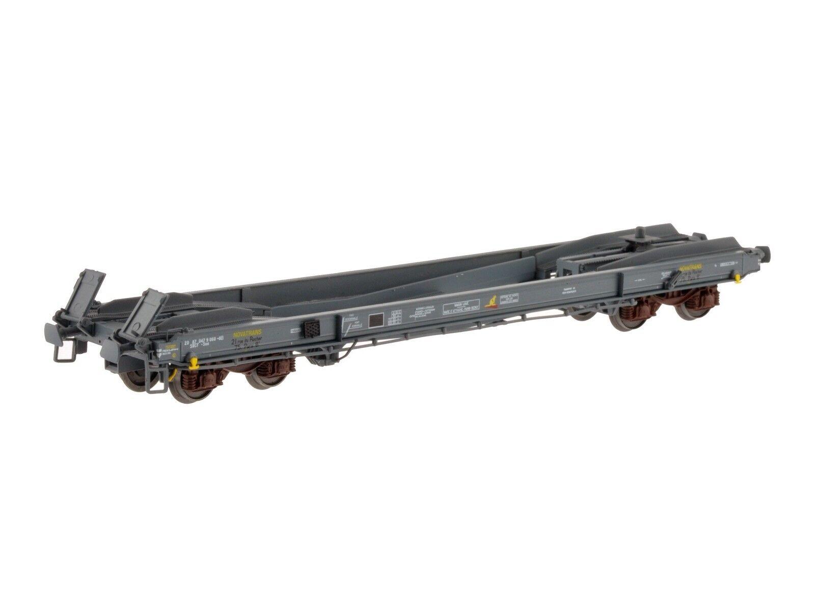 LS Models 30135 SNCF 4achs Wechselbehältertragwg KB NOVATRANS grau Ep4 NEU