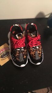 Details about Versace Chain Reaction in Animal Print Sneakers Men's - SIZE  available