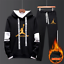 NEW-Mens-Michael-Air-23-Jordan-Tracksuit-Hoodie-and-Pants-Men-Sportswear thumbnail 2