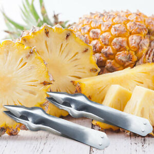 EE-Pineapple-Eye-Remover-Clip-Kitchen-Fruit-Core-Seed-Peeler-Slicer-Tongs-Cosy