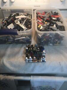 LEGO Star Wars 6 lb Lot 20 Minifigures Please read description & See All Photos